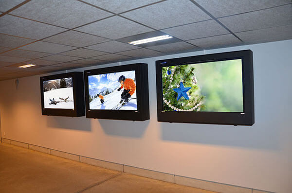 LCD Enclosures christmas