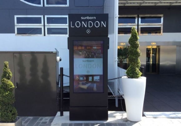Outdoor Digital Signage Appearance