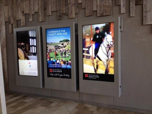 Outdoor digital Signage Smart City
