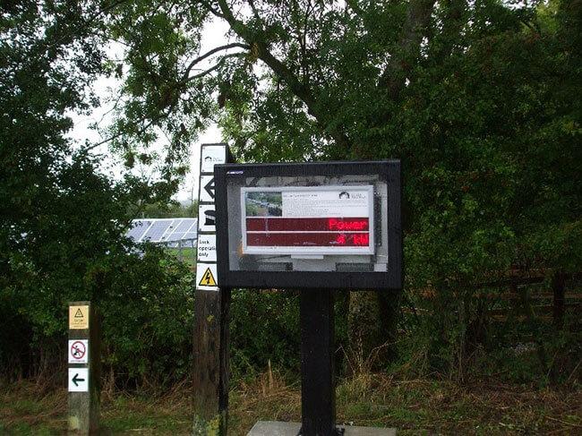 outdoor digital signage Storm
