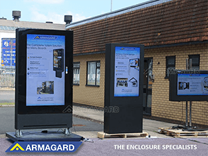 Outdoor Digital Signage Totems