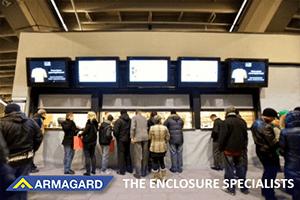 wall-mounted, Armagard digital signage
